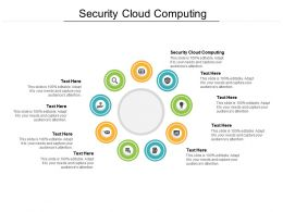 Security Cloud Computing Ppt Powerpoint Presentation Show Guidelines Cpb