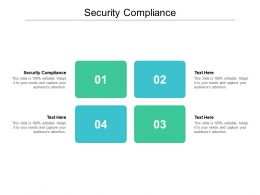 Security Compliance Ppt Powerpoint Presentation Ideas Example File Cpb
