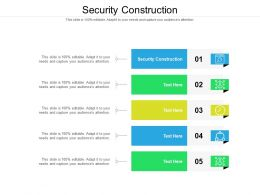 Security Construction Ppt Powerpoint Presentation Infographics Graphics Cpb