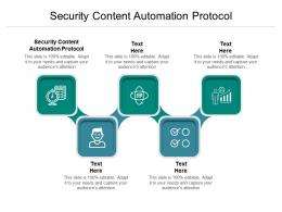 Security Content Automation Protocol Ppt Powerpoint Presentation Ideas Model Cpb