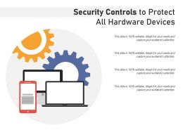 Security Controls To Protect All Hardware Devices