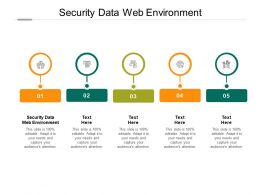 Security Data Web Environment Ppt Powerpoint Presentation Styles Visuals Cpb