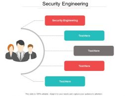 Security Engineering Ppt Powerpoint Presentation Gallery Designs Cpb