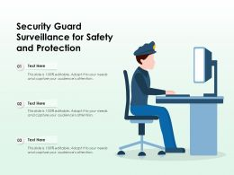 Security Guard Surveillance For Safety And Protection