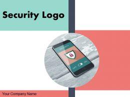 Security Logo Dollar Symbol Gear Representing Currency