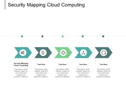 Security Mapping Cloud Computing Ppt Powerpoint Presentation Pictures Cpb