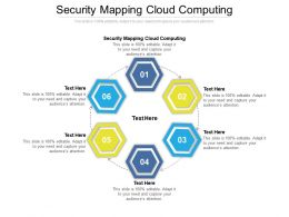 Security Mapping Cloud Computing Ppt Powerpoint Presentation Show Cpb