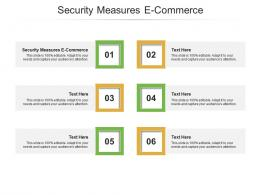 Security Measures E Commerce Ppt Powerpoint Presentation Summary Picture Cpb
