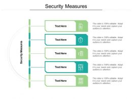 Security Measures Ppt Powerpoint Presentation Pictures Model Cpb