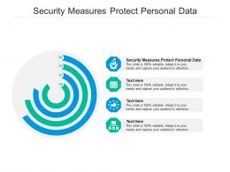 Security Measures Protect Personal Data Ppt Powerpoint Presentation Infographics Skills Cpb