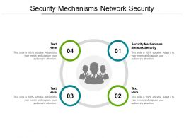 Security Mechanisms Network Security Ppt Powerpoint Presentation Visuals Cpb