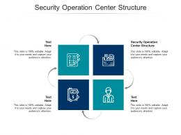 Security Operation Center Structure Ppt Powerpoint Presentation Infographic Template Cpb