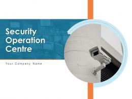 Security Operation Centre Powerpoint Presentation Slides