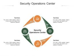 Security Operations Center Ppt Powerpoint Presentation Show Designs Download Cpb