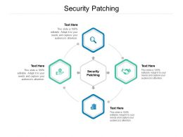Security Patching Ppt Powerpoint Presentation File Outline Cpb