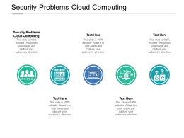 Security Problems Cloud Computing Ppt Powerpoint Presentation Pictures Grid Cpb