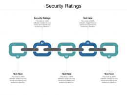 Security Ratings Ppt Powerpoint Presentation Outline Show Cpb