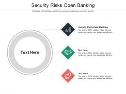 Security Risks Open Banking Ppt Powerpoint Presentation Icon Background Cpb