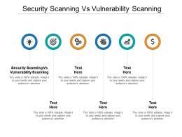 Security Scanning Vs Vulnerability Scanning Ppt Powerpoint Presentation Visual Aids Example 2015 Cpb
