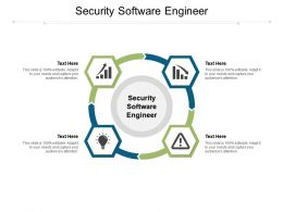 Security Software Engineer Ppt Powerpoint Presentation Portfolio File Formats Cpb