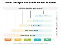 Security Strategies Five Year Functional Roadmap