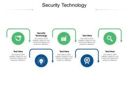 Security Technology Ppt Powerpoint Presentation Infographics Good Cpb