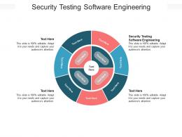Security Testing Software Engineering Ppt Powerpoint Presentation File Graphics Template Cpb