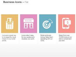 Security Token Bank Target Check Balances Ppt Icons Graphics