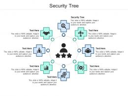 Security Tree Ppt Powerpoint Presentation Show Objects Cpb