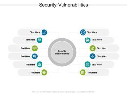 Security Vulnerabilities Ppt Powerpoint Presentation Ideas Background Images Cpb