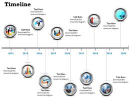 See Business Timeline Roadmap Diagram 0314