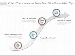 See Collect The Information Powerpoint Slide Presentation Tips