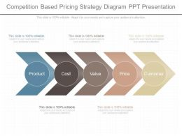 See Competition Based Pricing Strategy Diagram Ppt Presentation