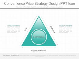 See Convenience Price Strategy Design Ppt Icon