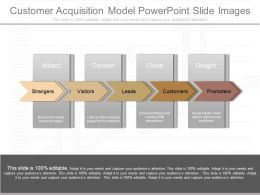 See Customer Acquisition Model Powerpoint Slide Images