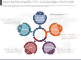 See Customer Experience Management For Revenue Generation Diagram Powerpoint Guide