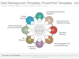 See Debt Management Templates Powerpoint Templates