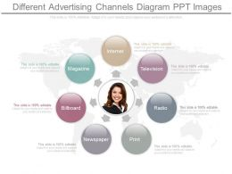 See Different Advertising Channels Diagram Ppt Images