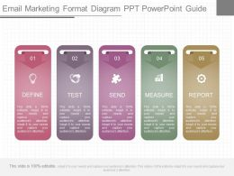 See E Mail Marketing Format Diagram Ppt Powerpoint Guide