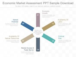 See Economic Market Assessment Ppt Sample Download