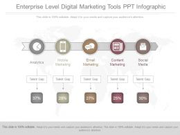 See Enterprise Level Digital Marketing Tools Ppt Infographic