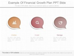 See Example Of Financial Growth Plan Ppt Slide