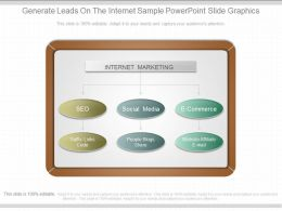 See Generate Leads On The Internet Sample Powerpoint Slide Graphics