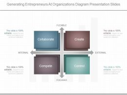 See Generating Entrepreneurs At Organizations Diagram Presentation Slides