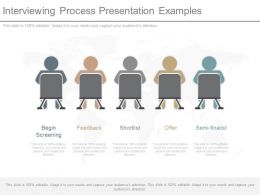 See Interviewing Process Presentation Examples