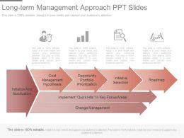 See Long Term Management Approach Ppt Slides