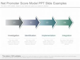 See Net Promoter Score Model Ppt Slide Examples