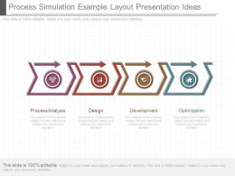 See Process Simulation Example Layout Presentation Ideas