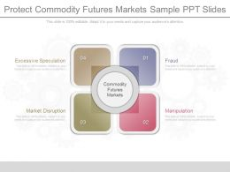 See Protect Commodity Futures Markets Sample Ppt Slides