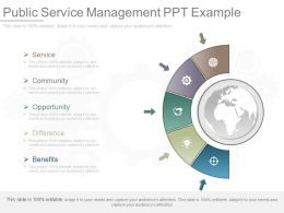 See Public Service Management Ppt Example